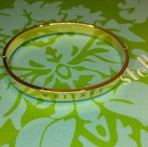 "Stella & Dot Engravable Bracelet - ""Whitney"""